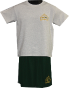 PE Uniform Short  Set w/ Embroidered Logo
