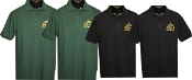 4 Piece Men Polo w/Logo BUNDLE