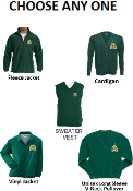 Sweater or Vest or Jacket or Fleece w/ Logo